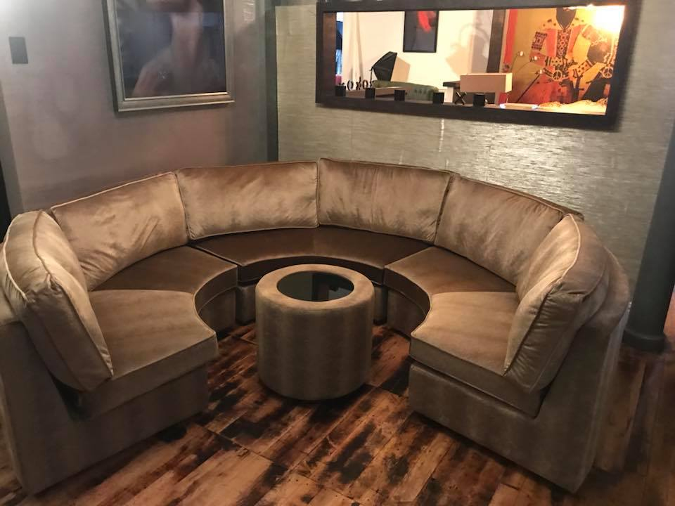 Remarkable Bespoke Curved Sofa Matching Table Luci Living Design Ibusinesslaw Wood Chair Design Ideas Ibusinesslaworg